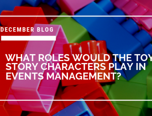 What roles would the Toy Story characters play in Events Management?