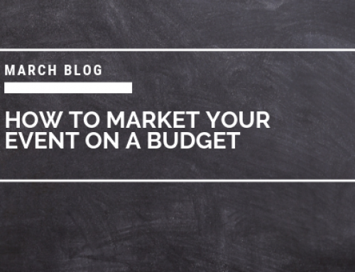 How to market your event on a budget