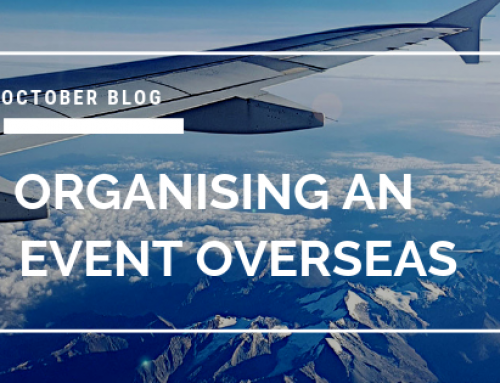 Organising an event overseas