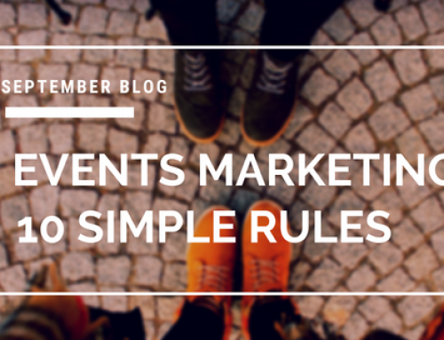 Events Marketing – 10 Simple Rules