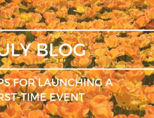 Tips for launching a first-time event