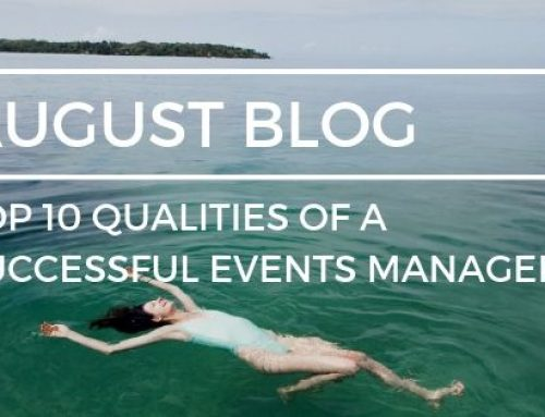 Top 10 qualities of a successful Events Manager